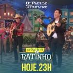 """Di Paullo & Paulino e Gustavo Mioto no """"Boteco do Ratinho"""" desta quarta-feira (16)"""