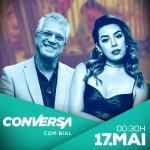 Naiara Azevedo agita o Conversa com Bial desta quinta-feira (17)
