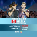 Pedro Paulo & Alex e Bruna Viola no Programa Silvio Santos deste domingo (03)