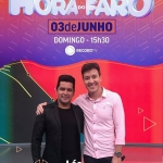 Léo Magalhães e Gabriel Diniz no Hora do Faro deste domingo (03)
