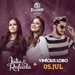 Júlia & Rafaela e Vinícius Lobo estreiam no palco do Villa Country
