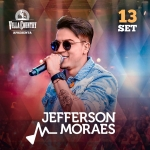Jefferson Moraes agita o Villa Country em Setembro