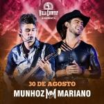 Munhoz & Mariano retornam ao palco do Villa Country