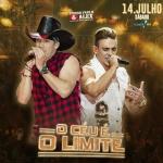 Pedro Paulo & Alex no O Céu é o Limite deste sábado (14)