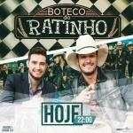 """Bruno & Barretto e Gino & Geno agitam o """"Boteco do Ratinho"""" desta quarta-feira (18)"""
