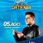 Léo Magalhães canta no Agora é Domingo deste domingo (05)