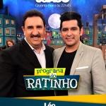 Léo Magalhães e Rionegro & Solimões no Programa do Ratinho desta quarta-feira (08)