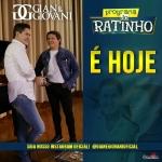 Gian & Giovani e Cezar & Paulinho no Programa do Ratinho desta quarta-feira (15)