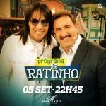 """Marciano e Guilherme & Santiago no """"Boteco do Ratinho"""" desta quarta-feira (05)"""