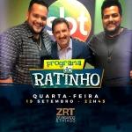 """Zé Ricardo & Thiago e Amado Batista no """"Boteco do Ratinho"""" desta quarta-feira (19)"""