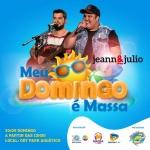 """Jeann & Júlio e Brenno & Matheus agitam a primeira edição do """"Meu Domingo é Massa"""""""