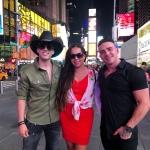 Pedro Paulo & Alex gravam novo clipe em Nova York