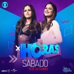 Júlia & Rafaela e Solange Almeida agitam o Altas Horas deste sábado (08)