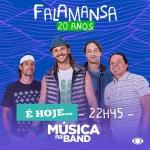 Falamansa agita o Música na Band desta sexta-feira (21)