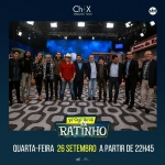 """Chitãozinho & Xororó agitam o """"Boteco do Ratinho"""" desta quarta-feira (26)"""