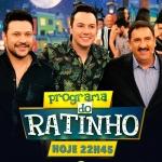 """João Bosco & Vinícius e Felipe & Falcão no """"Boteco do Ratinho"""" desta quarta-feira (24)"""