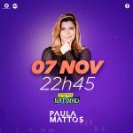 Paula Mattos e Cézar & Paulinho no Programa do Ratinho desta quarta-feira (07)