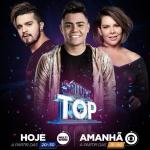 Felipe Araújo e Thaeme & Thiago no SóTocaTop deste sábado (17)