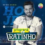 "Gustavo Mioto agita o ""Boteco do Ratinho"" desta quarta-feira (05)"