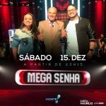 Luiza & Maurílio agitam o Mega Senha deste sábado (15)