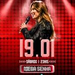 Lucyana Villar agita o Mega Senha deste sábado (19)