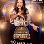 Janaynna, Barra da Saia e Thayná Bitencourt e Karoline Violeira no Aparecida Sertaneja desta terça-feira (12)