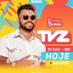 Thiago Brava e Lauana Prado apresentam o TVZ Ao Vivo desta quarta-feira (27)