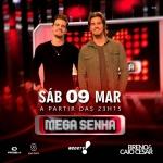 Breno & Caio Cesar no Mega Senha deste sábado (09)