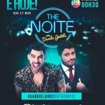 Gabriel Diniz no The Noite com Danilo Gentili desta quarta-feira (27)