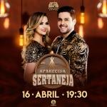 Maria Cecília & Rodolfo agitam o Aparecida Sertaneja desta terça-feira (16)