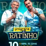 """Matogrosso & Mathias e Gabriel Diniz no """"Boteco do Ratinho"""" desta quarta-feira (10)"""