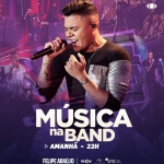 Felipe Araújo no Música na Band desta sexta-feira (24)
