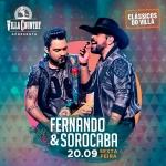 """Fernando & Sorocaba apresentam """"O Chamado da Floresta"""" no Villa Country"""