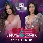 Simone & Simaria se apresentam no palco do Villa Country