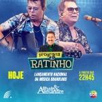 """Althair & Alexandre, Gian & Giovani e Paula Mattos no """"Boteco do Ratinho"""" desta quarta-feira (04)"""