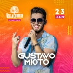 Gustavo Mioto com novo show no Villa Country